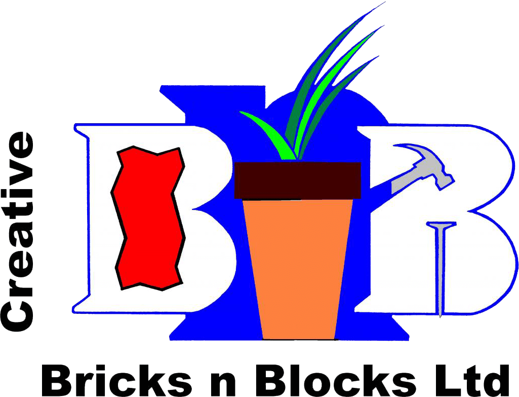 Creative Bricks n Blocks Logo