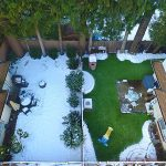 Artificial Grass vs Winter