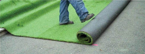 Artificial Grass Installation - Surfacing