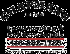 Chapman's Landscaping & Builders Supply Logo