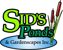 Sid's Pounds & Gardenscapes Inc. Logo