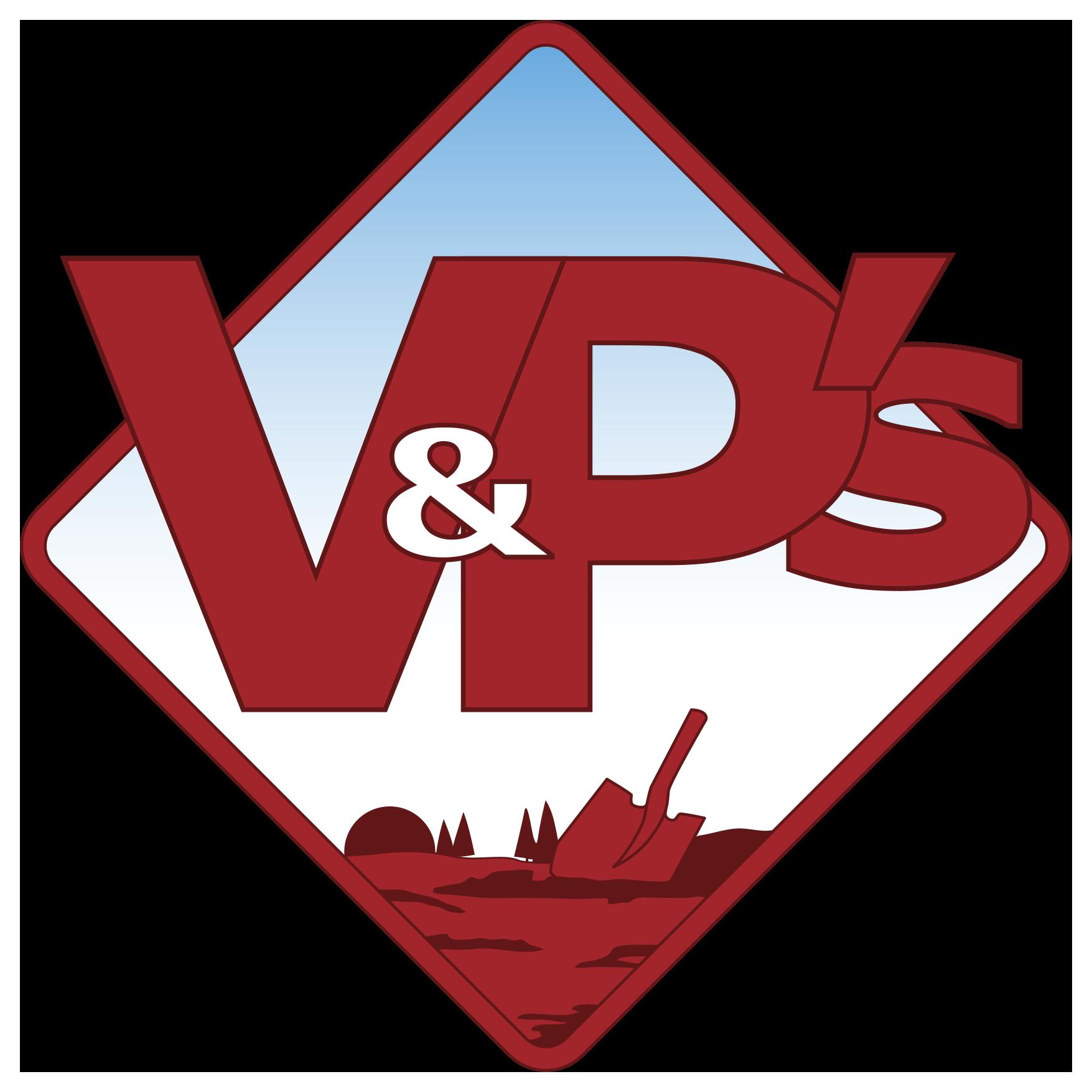 V&P's Topsoil & Landscape Supplies Ltd.  Logo