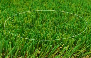 diagram showing artificial grass melted by the suns heat