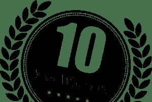 bella turf artificial grass 10 year warranty badge