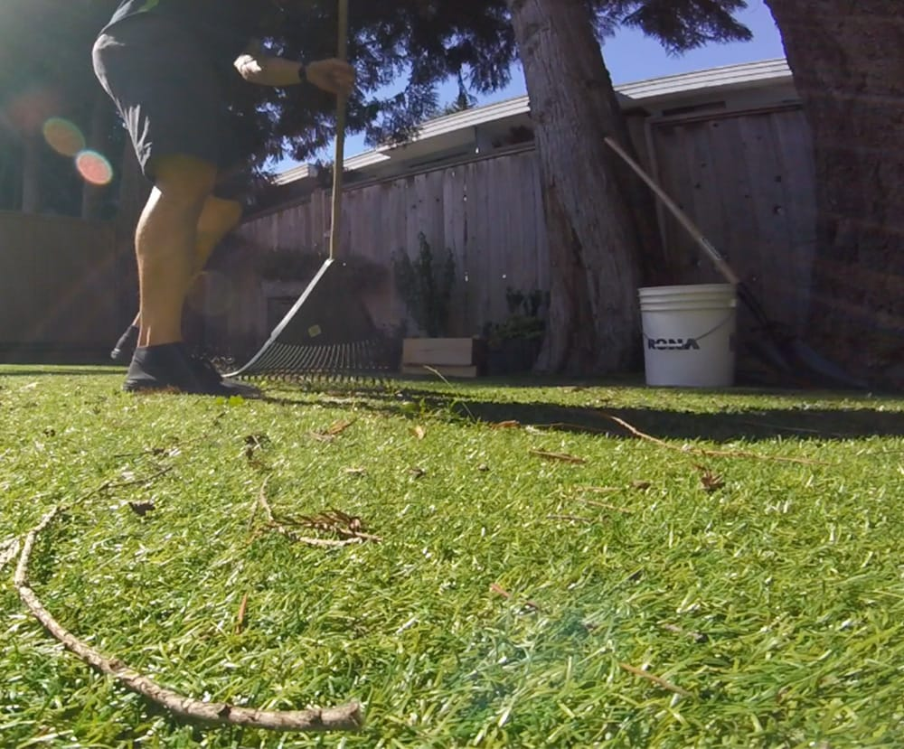 Remove Debris from Artificial Grass