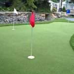 Going green: Backyard putting greens increasing in popularity