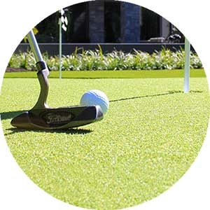 Bella Turf artificial Putting Green grass