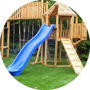 Bella Turf artificial grass for playgrounds