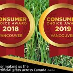 Back to Back Consumer's Choice Awards for Bella Turf