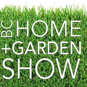 bella turf attends the bc home and garden show
