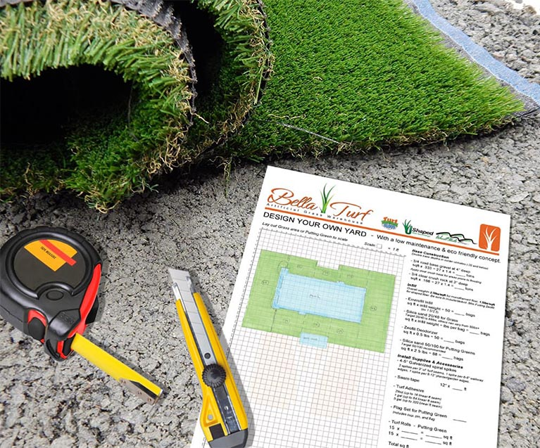 Preparing your artificial grass installation plan