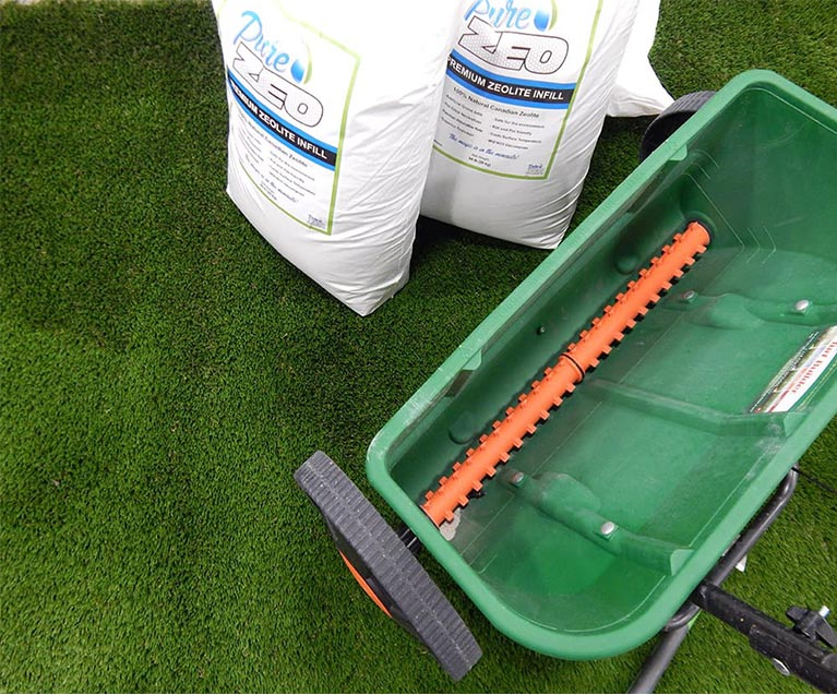 Infilling Artificial Grass