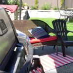 What is the best plastic grass for hosting backyard BBQs?