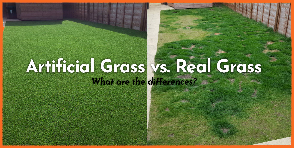 Artificial Grass vs. Real Grass — What are the differences?