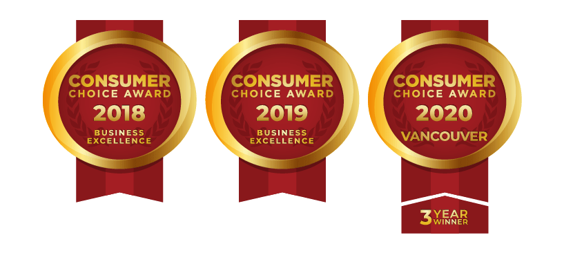 Consumer Choice Award has Awarded Bella Turf as Vancouver's BEST Artificial Grass company 3 years in a row.