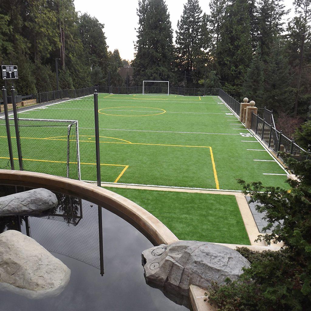 Professional Artificial Grass Soccer Field