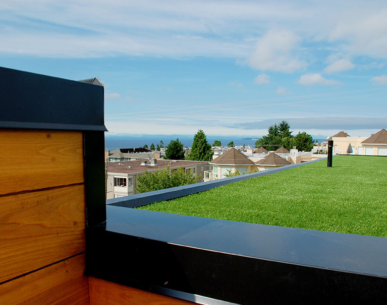 artificial grass roof top