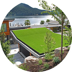 Artificial Grass for Rooftops, Decks, and Patios