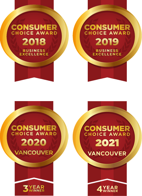 Consumer Choice Award has Awarded Bella Turf as Vancouver's BEST Artificial Grass company 4 years in a row.