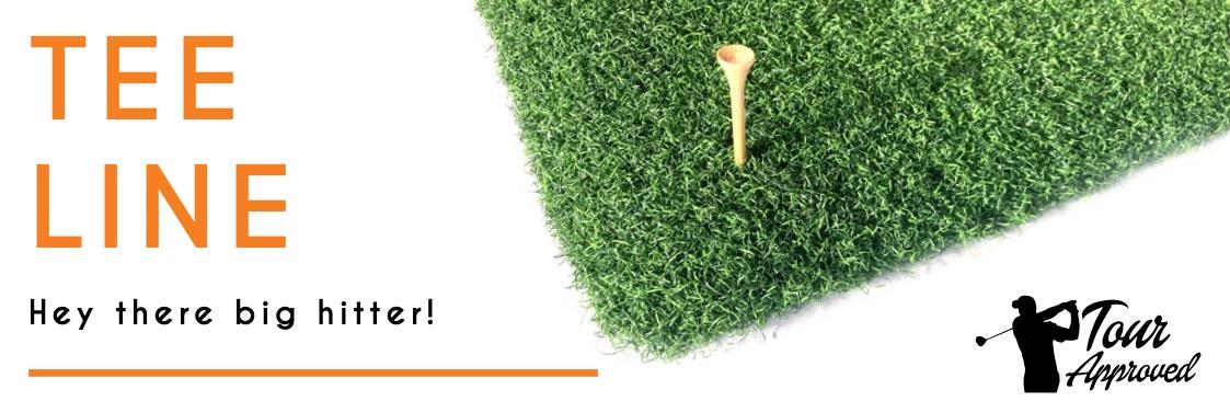 new-in-2021-tee-line - chipping mat- artificial grass